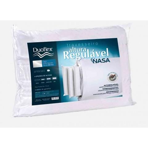 Travesseiro Duoflex Viscoelástico com Altura Regulável RN1100