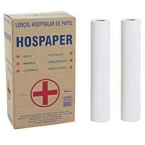 Papel Lençol 50x50 Hospaper (2 Rolos)