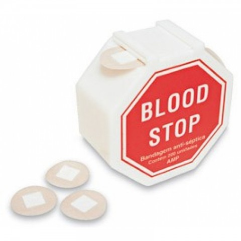 Blood Stop bandagem anti-septica c/200