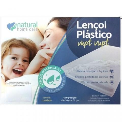 Lençol Plástico VAPT-VUPT Casal Queen 2,00 x 1,60 x 0,30