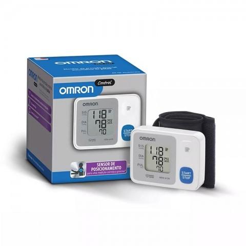 Monitor de Pressão Omron Digital Pulso Elite HEM-6124