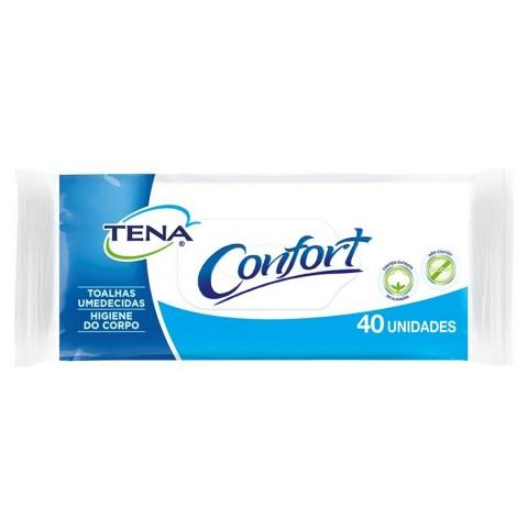 Toalhas Umedecidas Tena Biofral Confort 40 Unidades