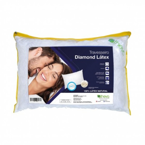 Travesseiro Diamond Latex Copespuma